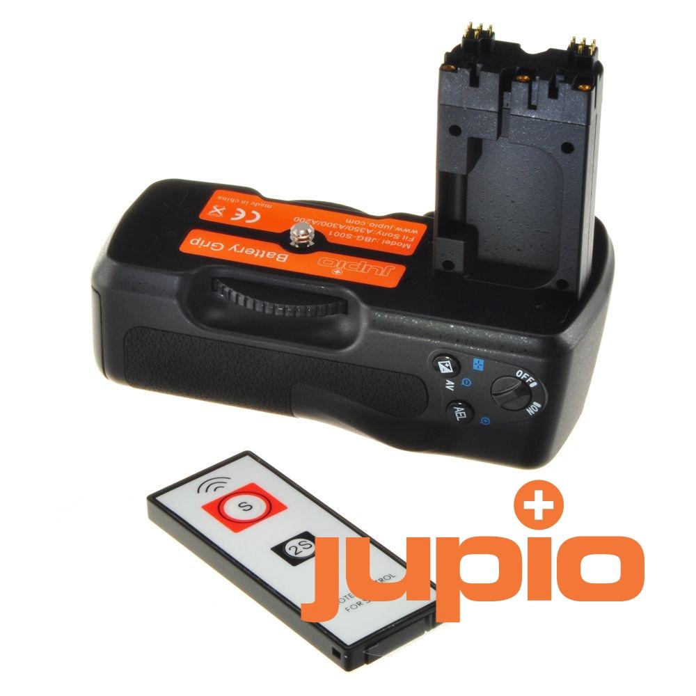 Sony VG-B30AM utángyártott portrémarkolat és távkiodó a Jupiotól, Sony A200, Sony A300, Sony A350 fényképezőgépekhez