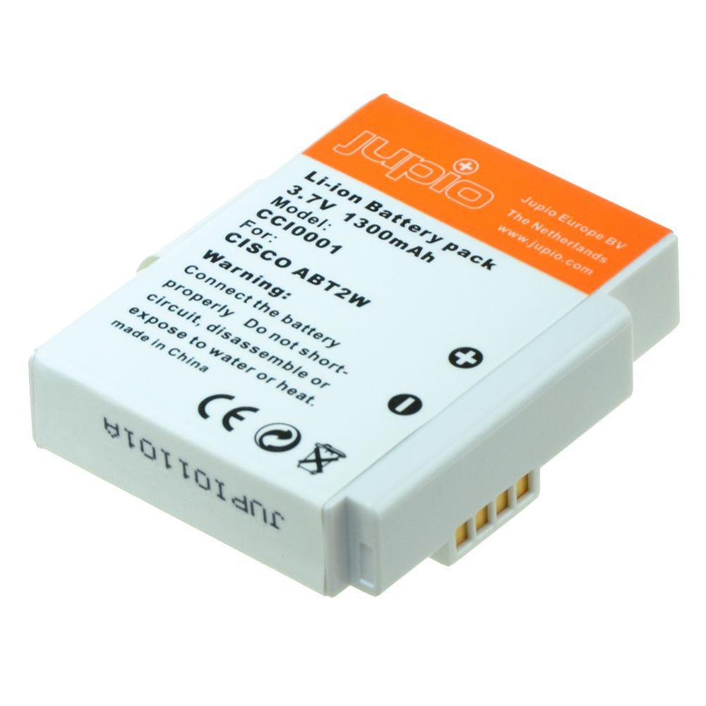 Cisco Flip ABT2W, videokamera utángyártott-akkumulátor, a Jupiotól