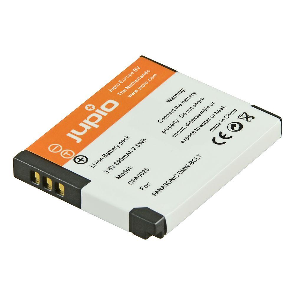 9b3dc7eb7d4e Panasonic DMW-BCL7, fényképezőgép utángyártott-akkumulátor, a Jupiotól