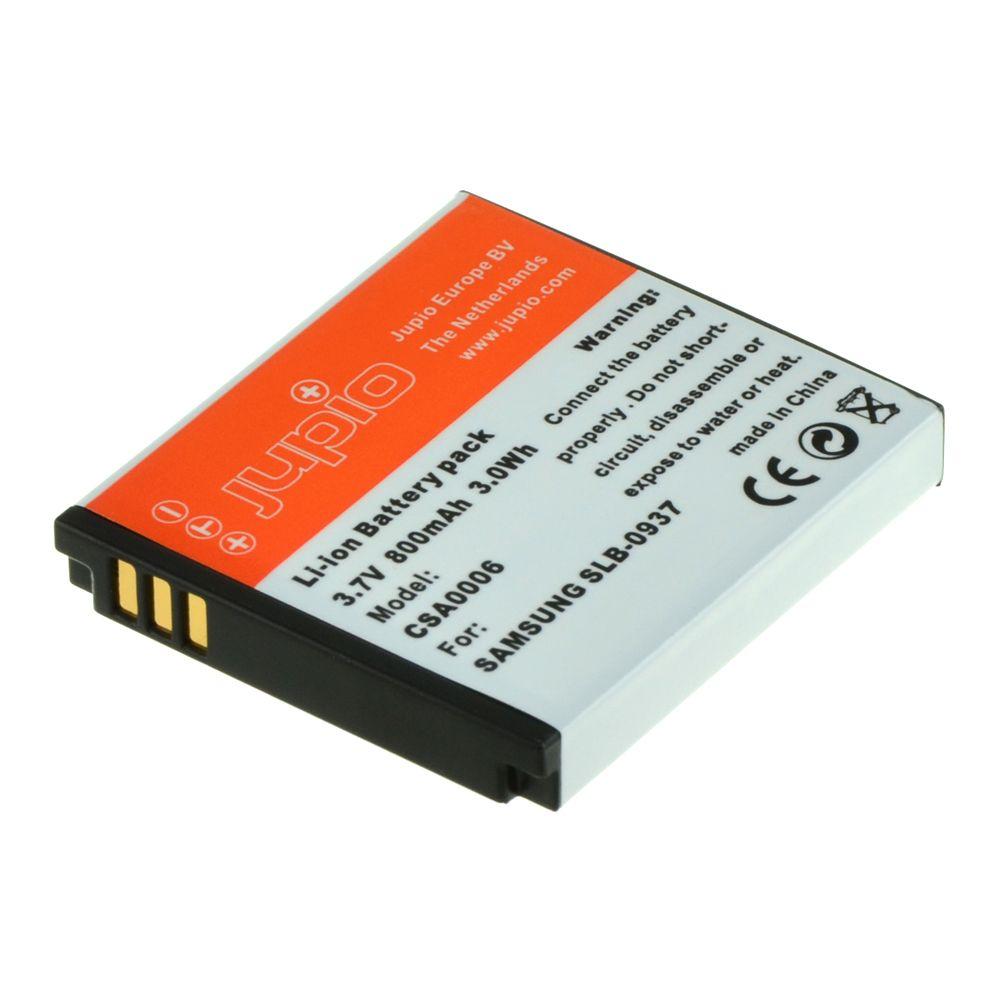 Samsung SLB-0937, fényképezőgép utángyártott-akkumulátor, a Jupiotól