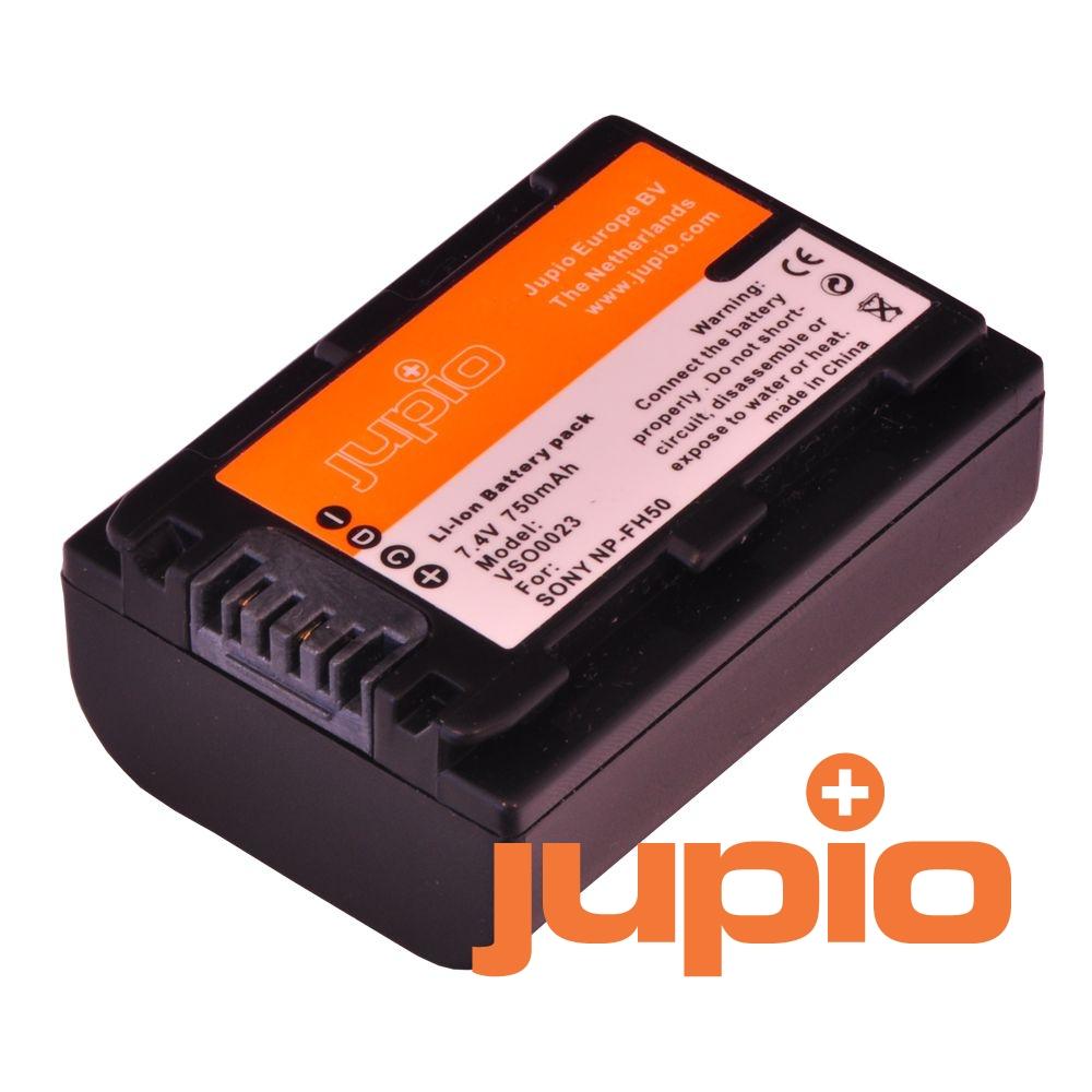 Sony NP-FH50, info chip-es, videokamera utángyártott-akkumulátor, a Jupiotól