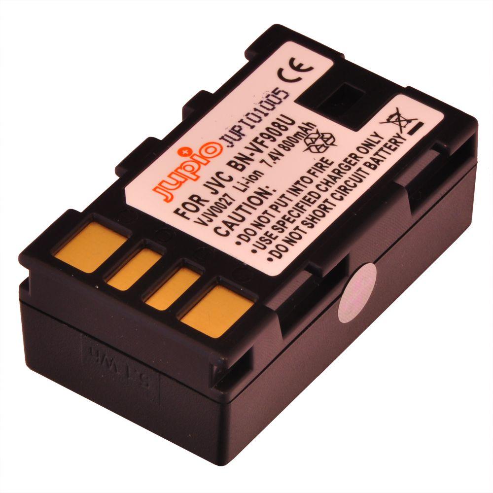 BN-VF908U JVC, videokamera utángyártott-akkumulátor, a Jupiotól