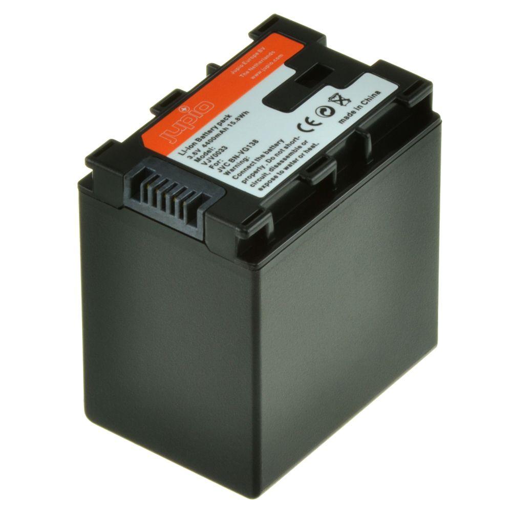 JVC BN-VG138, videokamera utángyártott-akkumulátor, a Jupiotól
