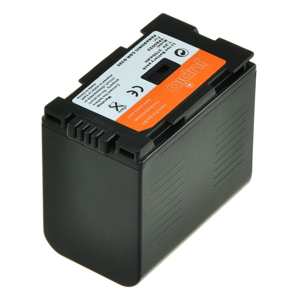 Panasonic D320, Panasonic D28S, videokamera utángyártott-akkumulátor, a Jupiotól