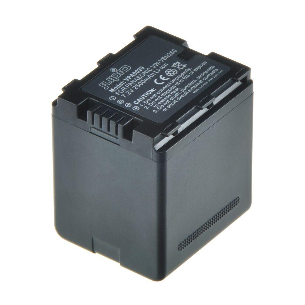 Panasonic VW-VBN260, videokamera utángyártott-akkumulátor, a Jupiotól