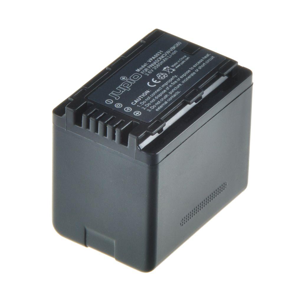 Panasonic VW-VBK360, videokamera utángyártott-akkumulátor, a Jupiotól
