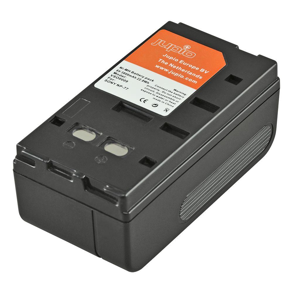 NP-77 Sony, videokamera utángyártott-akkumulátor, a Jupiotól