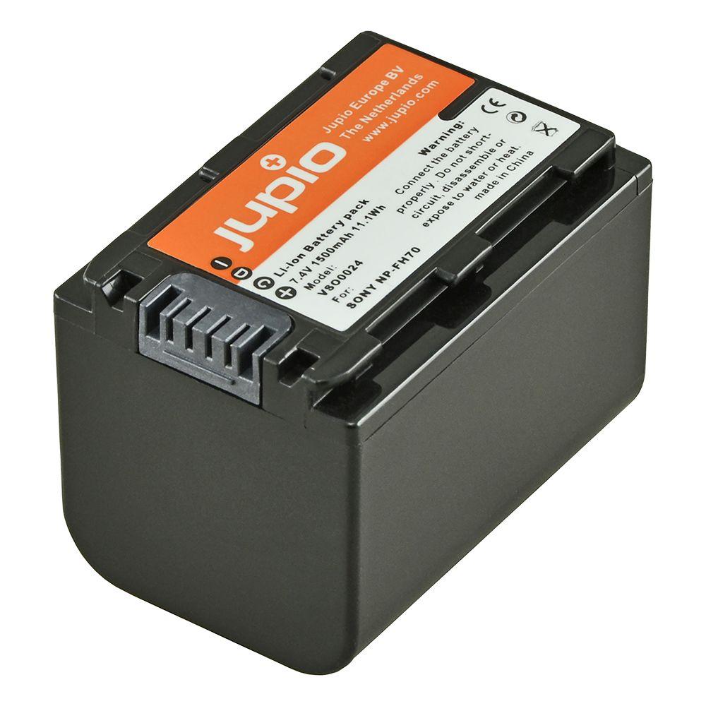 Sony NP-FH70, info chip-es, videokamera utángyártott-akkumulátor, a Jupiotól