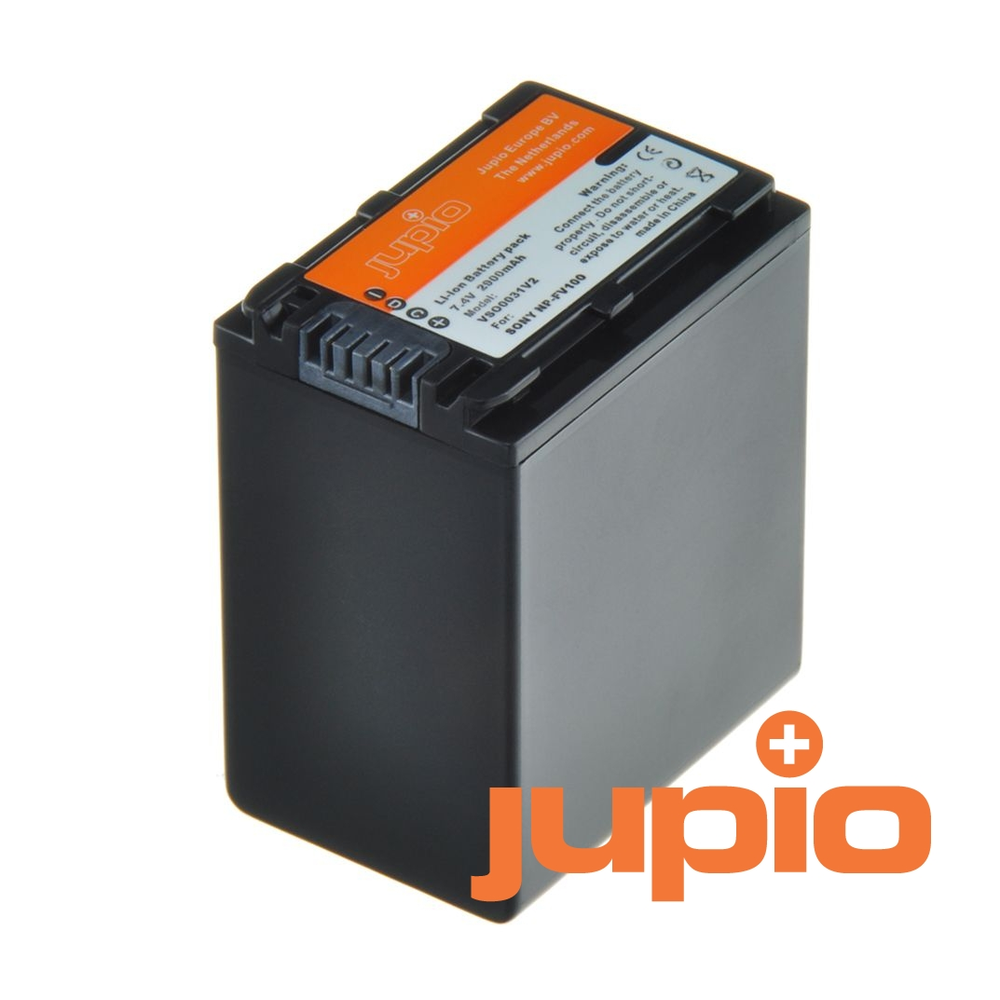 Sony NP-FV100, info chip-es, videokamera utángyártott-akkumulátor, a Jupiotól
