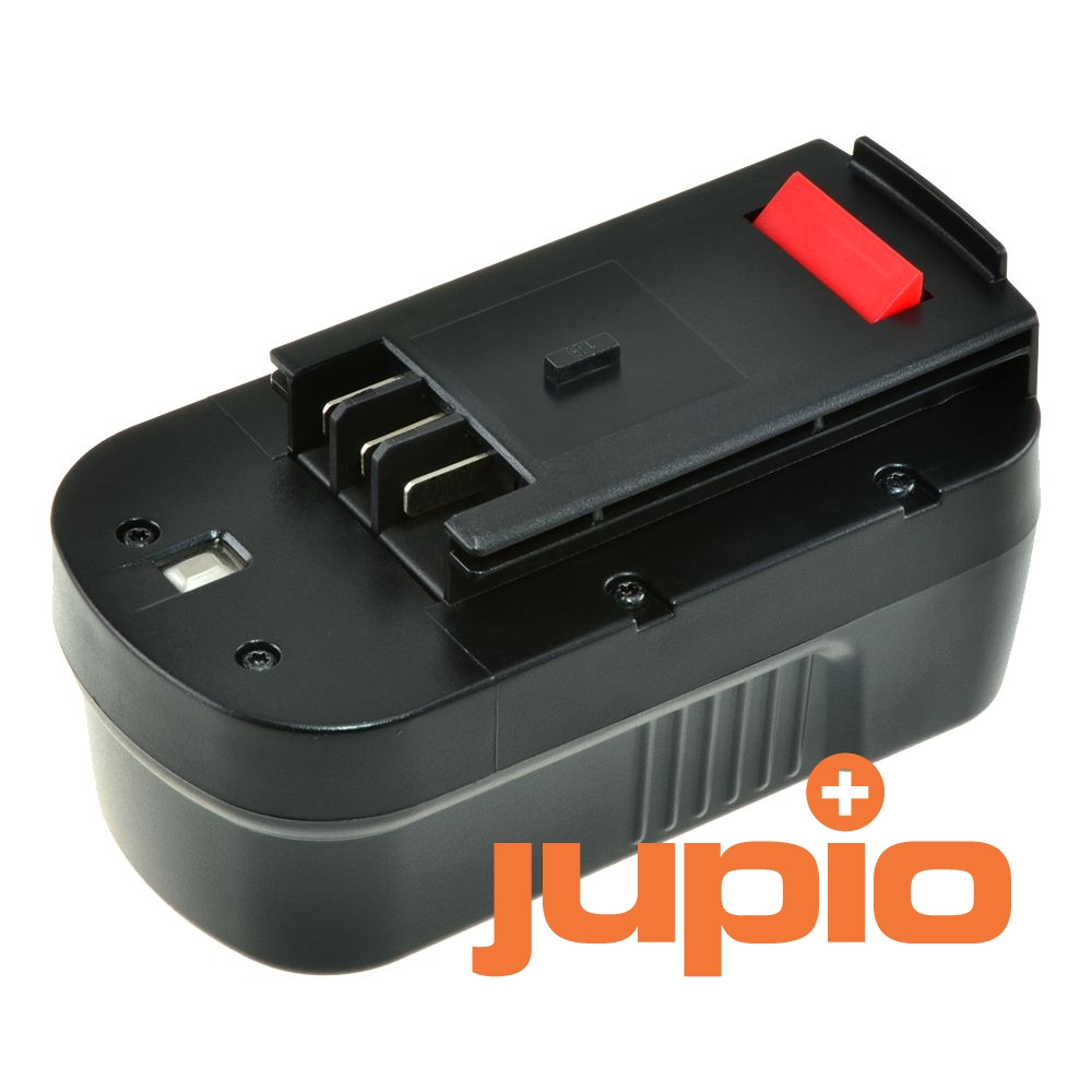 Black & Decker HPB18 utángyártott szerszámgép akkumulátor, Ni-Cd 18V a Jupiotól