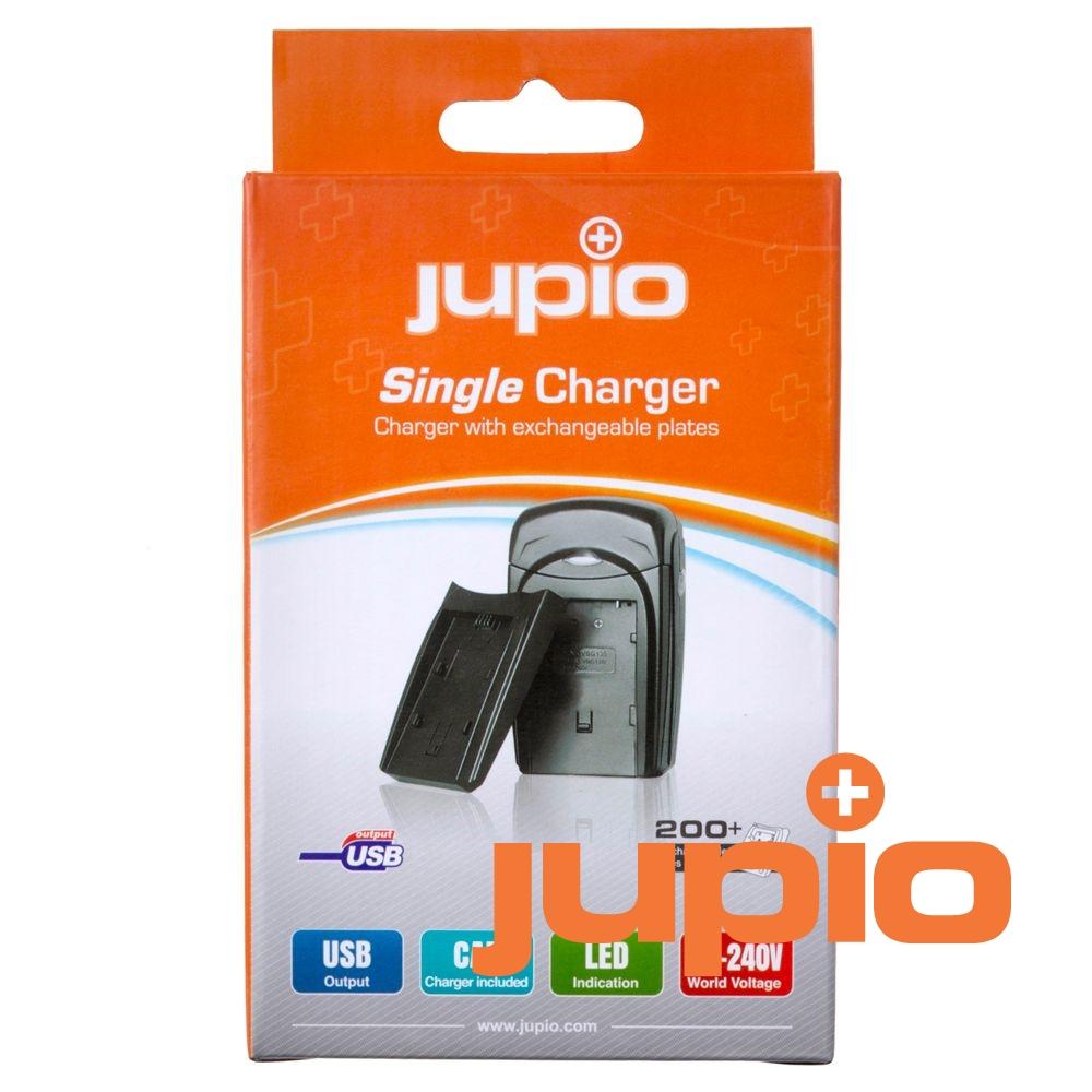 Akkumulátor-töltő, cserélhető akku-foglalatokhoz (Jupio Single Charger)