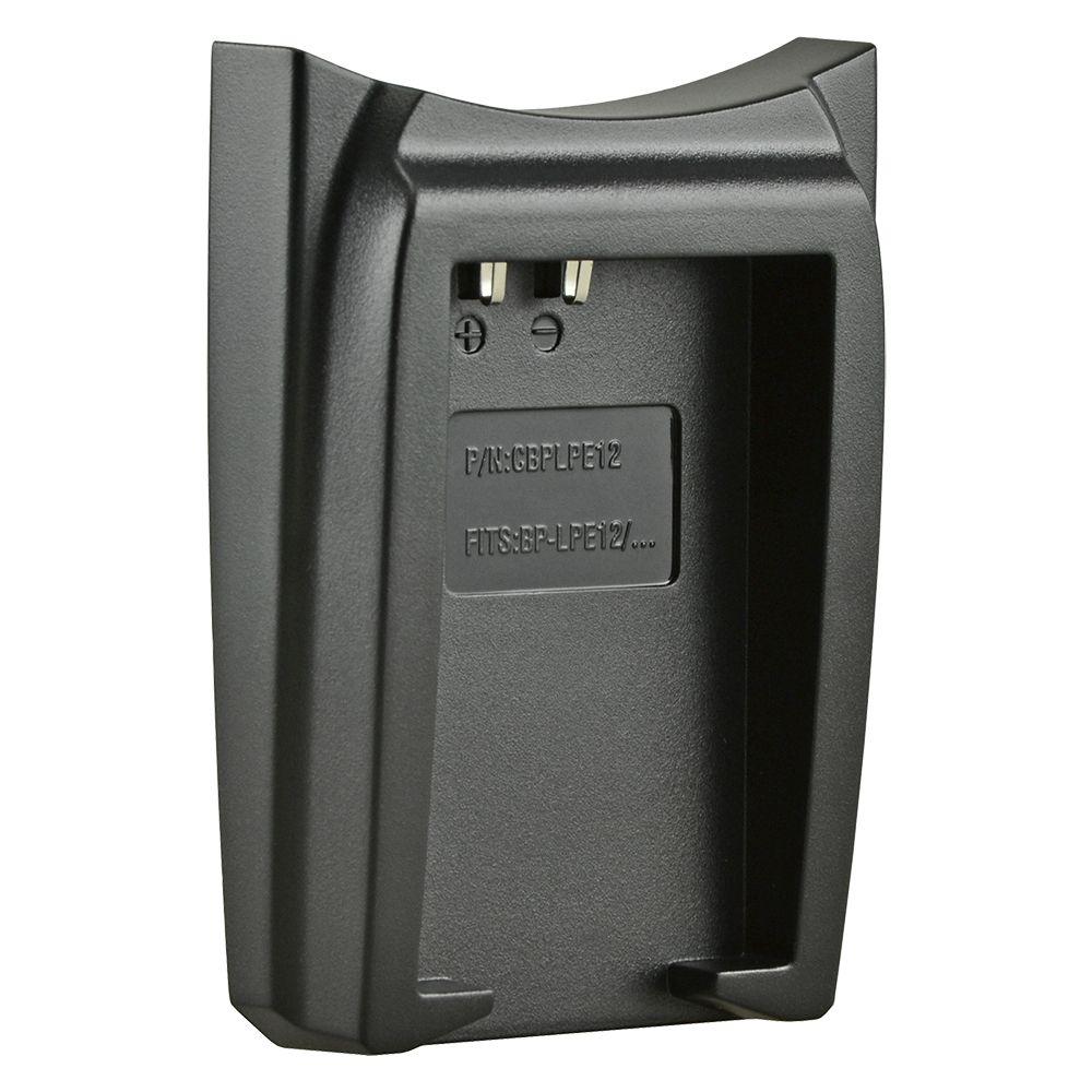 Jupio cserélhető akkumulátor-töltő foglalat Canon LP-E12