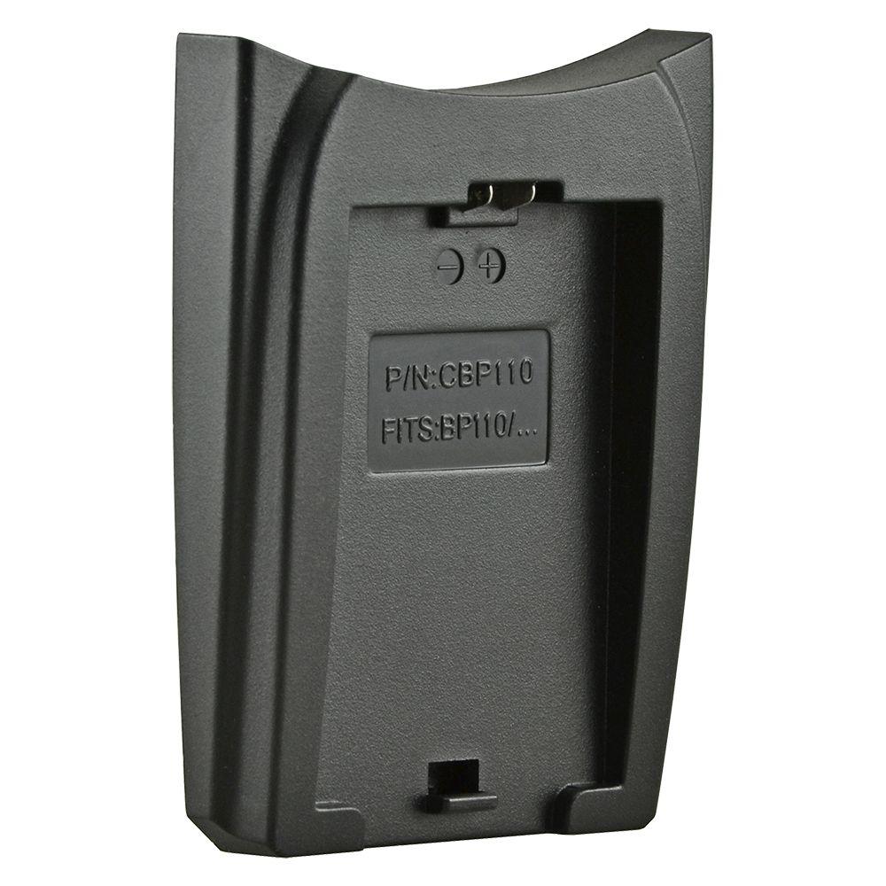 Jupio cserélhető akkumulátor-töltő foglalat Canon BP-110
