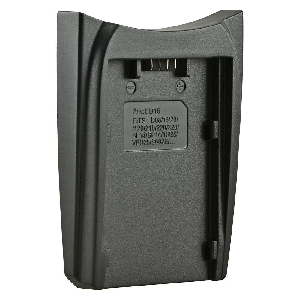 Jupio cserélhető akkumulátor-töltő foglalat Hitachi DZ-BP16