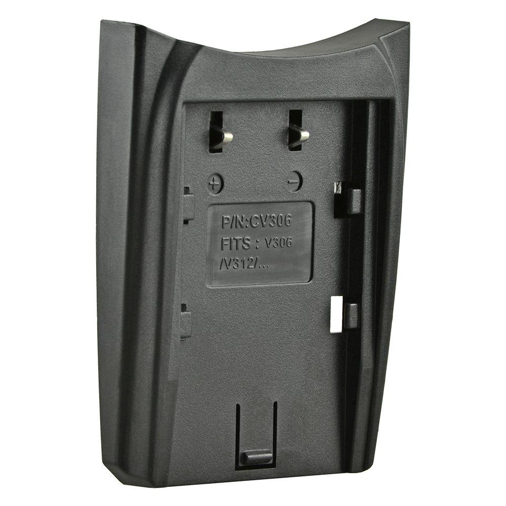 Jupio cserélhető akkumulátor-töltő foglalat JVC BN-V306 videokamera akkumulátor töltőhöz