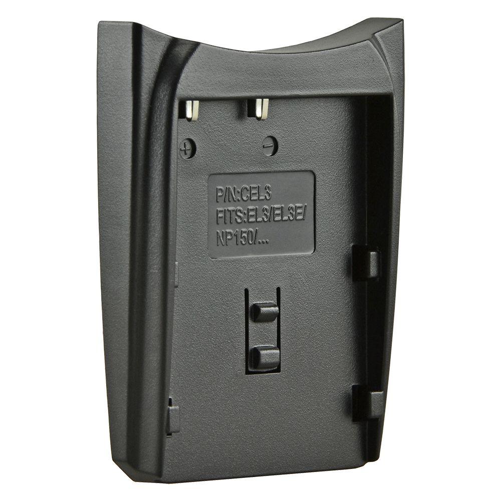 Jupio cserélhető akkumulátor-töltő foglalat Nikon EN-EL3(A), Nikon EN-EL3E kompatibilis