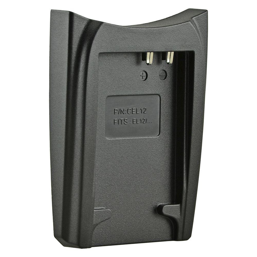 Jupio cserélhető akkumulátor-töltő foglalat Nikon EN-EL12