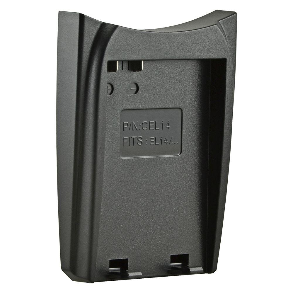 Jupio cserélhető akkumulátor-töltő foglalat Nikon EN-EL14