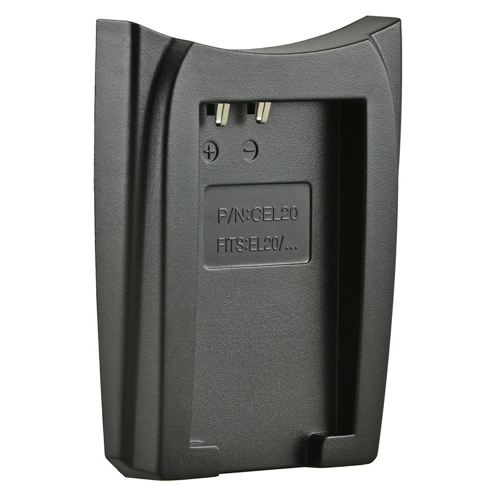 Jupio cserélhető akkumulátor-töltő foglalat Nikon EN-EL20