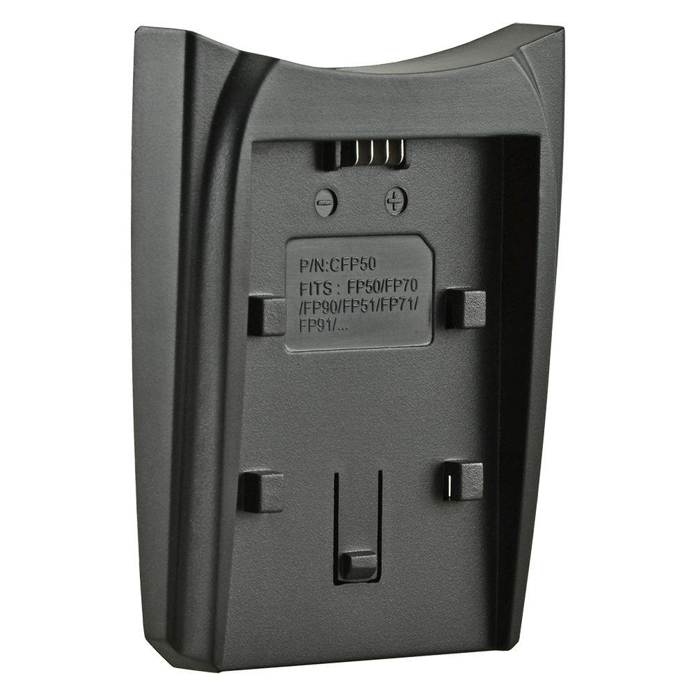 Jupio cserélhető akkumulátor-töltő foglalat Sony NP-FP50, Sony NP-FH50, Sony NP-FV50