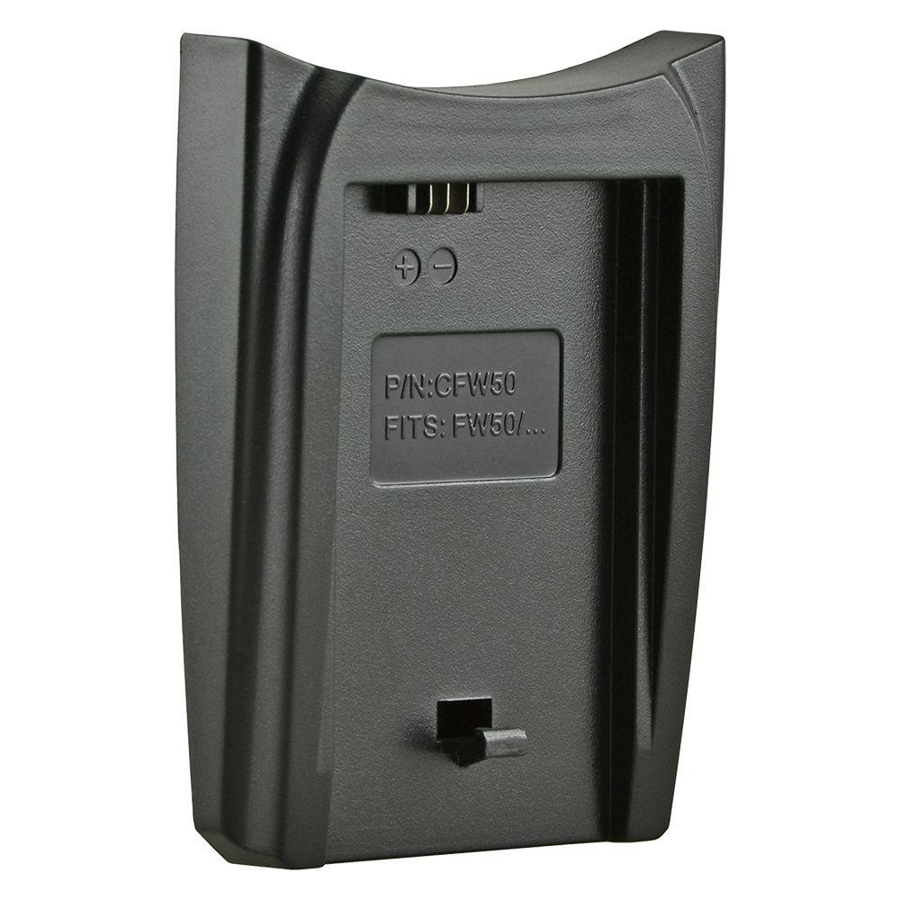 Jupio cserélhető akkumulátor-töltő foglalat Sony NP-FW50