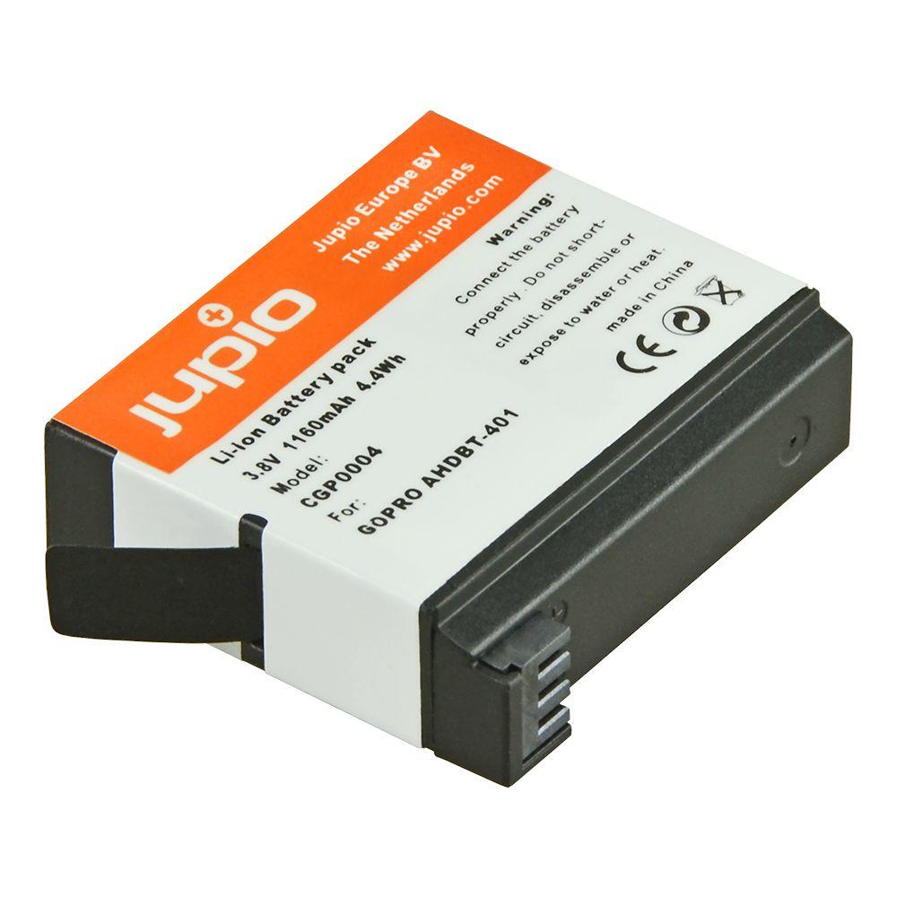 4 GoPro Hero AHDBT-401, akciókamera utángyártott-akkumulátor a Jupiotól
