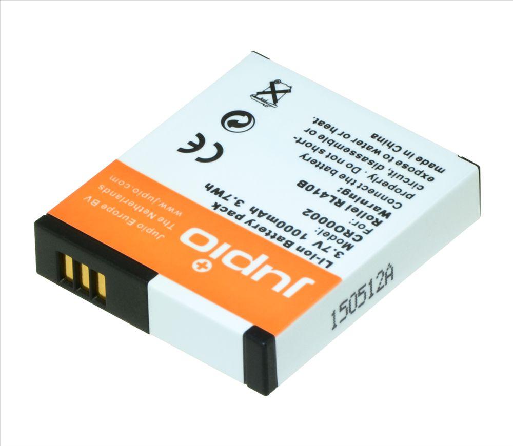 Rollei RL410B, videokamera utángyártott-akkumulátor, a Jupiotól