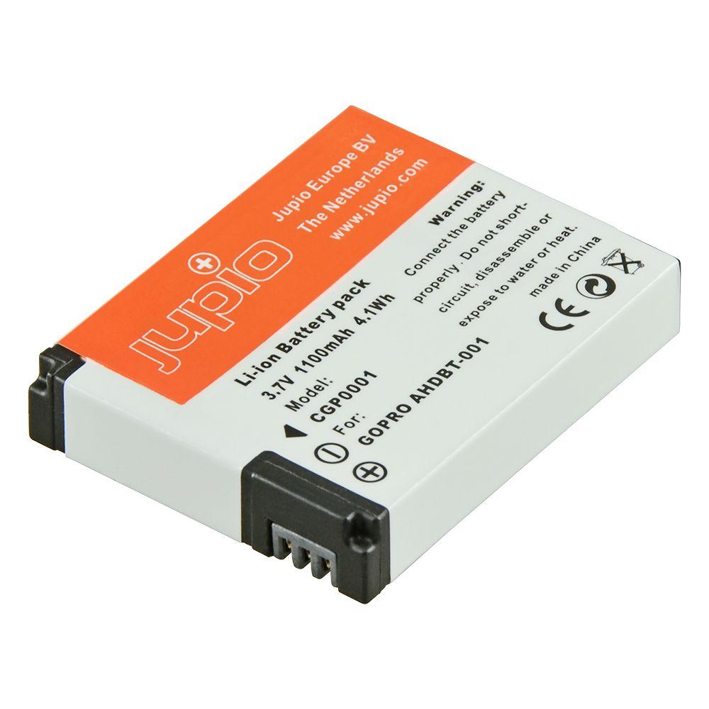 Go-Pro AHDBT-001, Go-Pro AHDBT-002, akciókamera utángyártott-akkumulátor, a Jupiotól