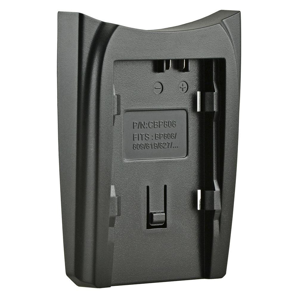 Jupio cserélhető akkumulátor-töltő foglalat Canon BP-808, Canon BP-809, Canon BP-819, BP-827, BP-820, BP-828