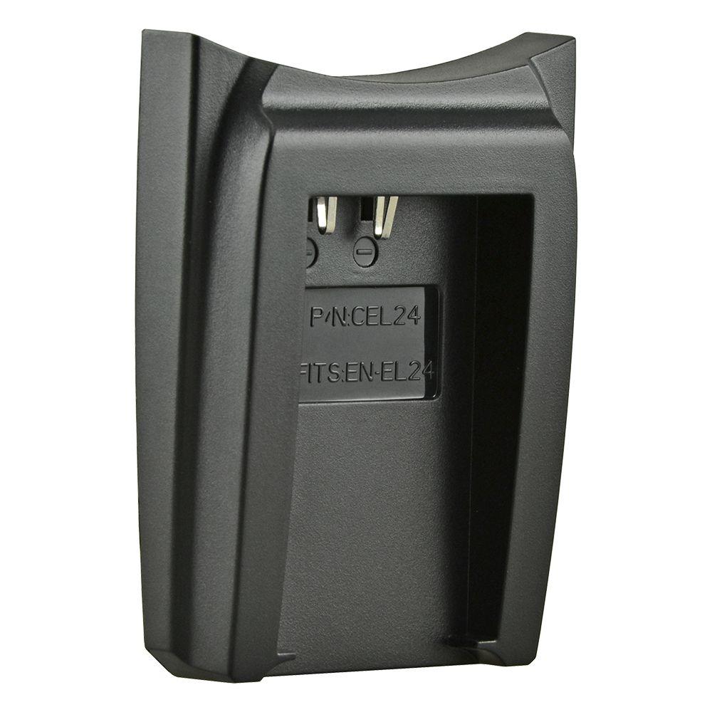 Jupio cserélhető akkumulátor-töltő foglalat Nikon EN-EL24