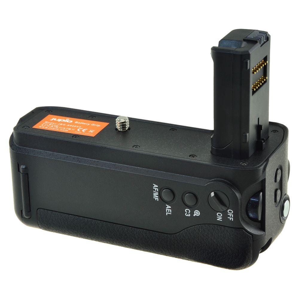 Sony VG-C2EM utángyártott portrémarkolat a Jupiotól Sony A7 II, Sony A7R II fényképezőgépekhez