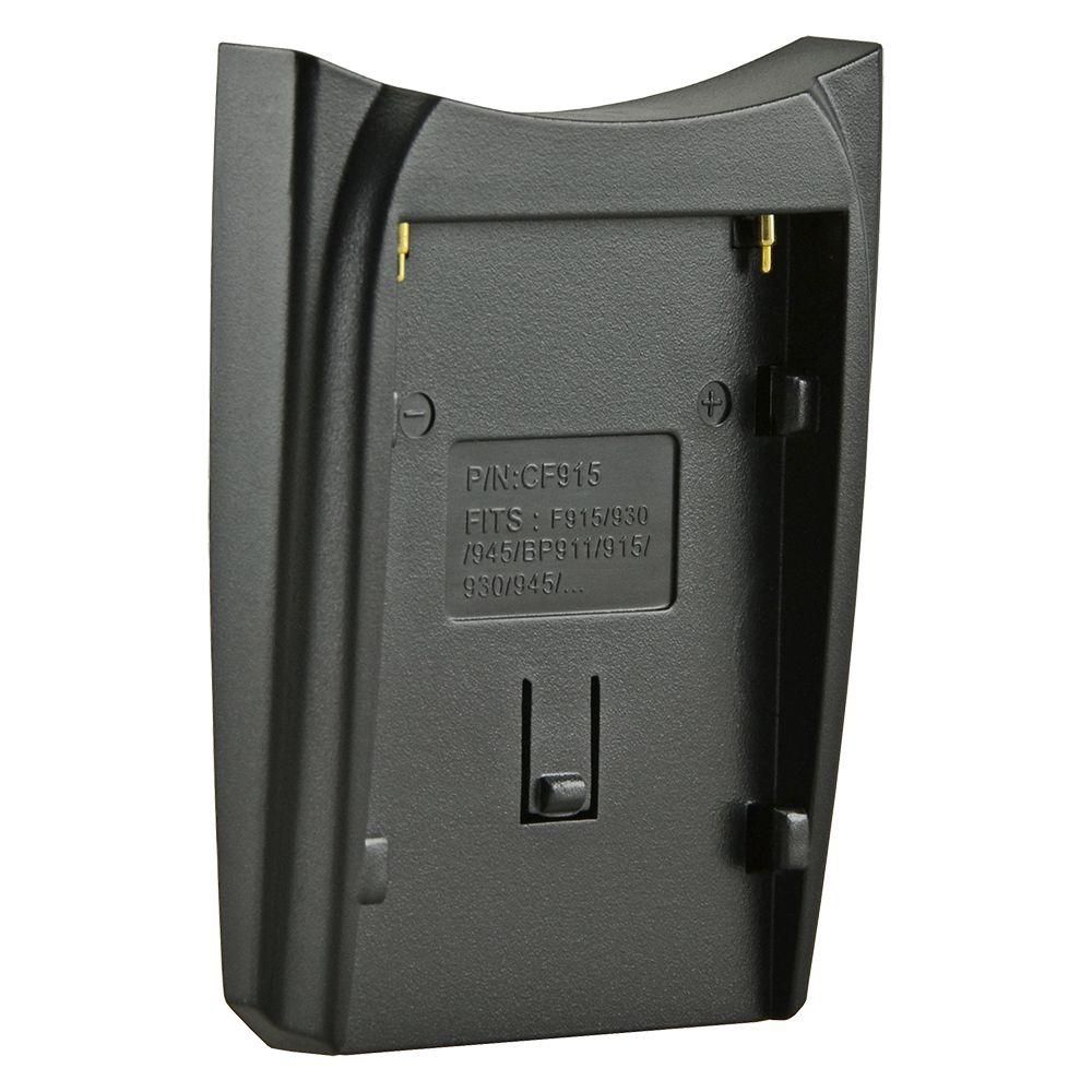Jupio cserélhető akkumulátor-töltő foglalat Canon BP-915 / BP-930 / BP-945/ BP-955 /BP-975