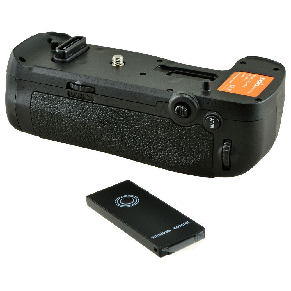 Nikon D850 utángyártott portrémarkolat távkioldóval a Jupiotól