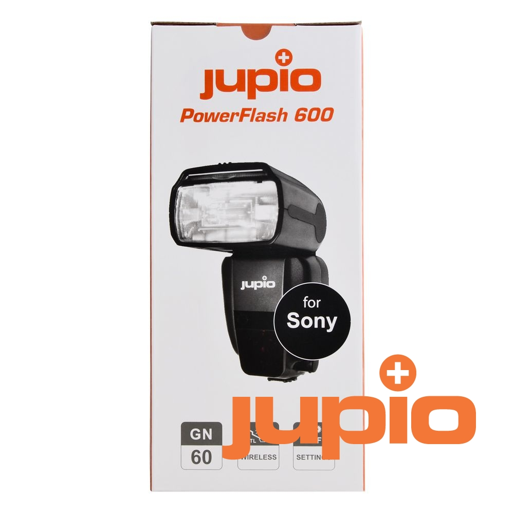 Jupio Power Flash 600 rendszervaku /Sony/