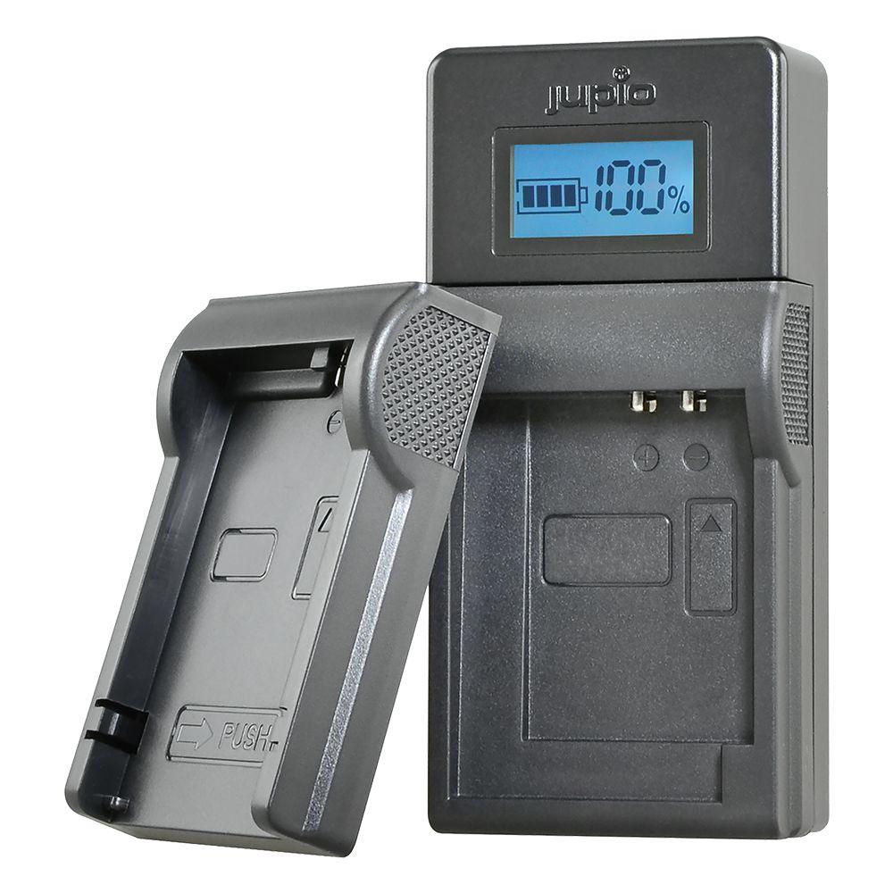 USB akkumulátor töltő Canon akkumulátorokhoz a Jupio-tól