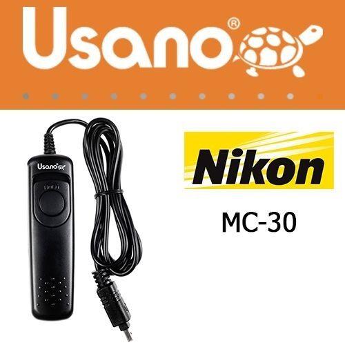 Nikon MC-30 megfelelője az Usano URC-0010N1 vezetékes távkioldó